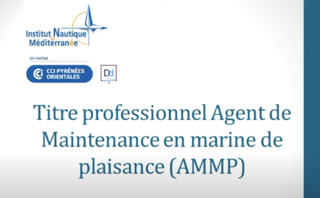 Titre Pro Agent de maintenance en marine de plaisance