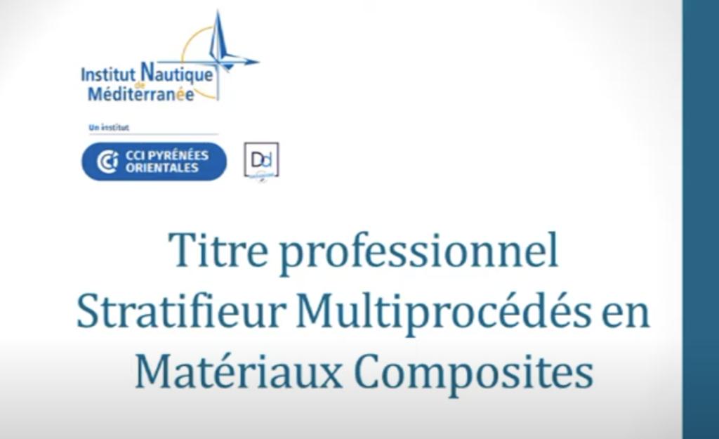 Titre pro Stratifieur multi procédés en matériaux composites